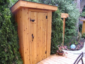 Small Garden Utility Shed